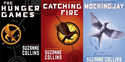 Hunger Games, Catching Fire, Mockingajay