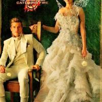 Josh Hutcherson talks Katniss and Peeta's relationship, the wedding dress and more