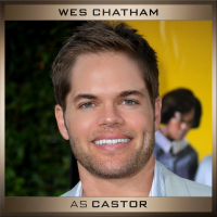 Wes Chatham and Elden Henson cast as brothers Castor and Pollux in The Hunger Games: #Mockingjay