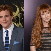 Photos: Sam Claflin and Stef Dawson at the premiere of 'The Quiet Ones'
