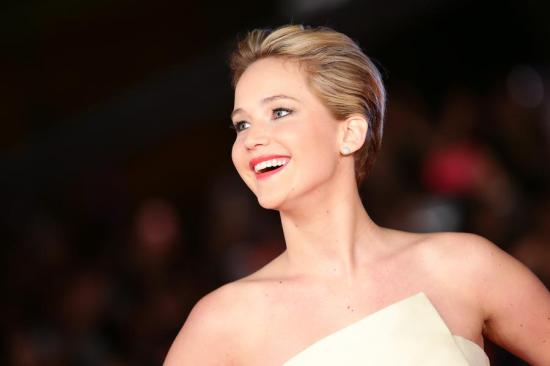 Jennifer Lawrence at The Hunger Games Catching Fire premiere in Rome