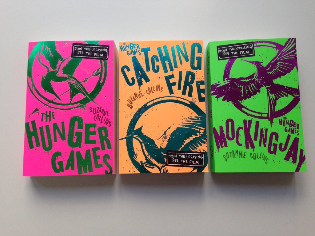 UK Giveaway: NEW limited edition 'The Hunger Games' books ...