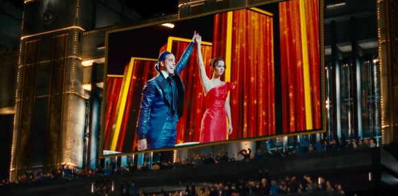 The Hunger Games - Caesar Flickerman and Katniss Everdeen