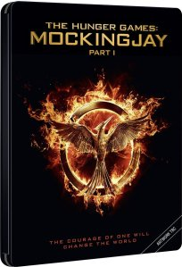 Mockingjay Steelbook Blu Ray Front