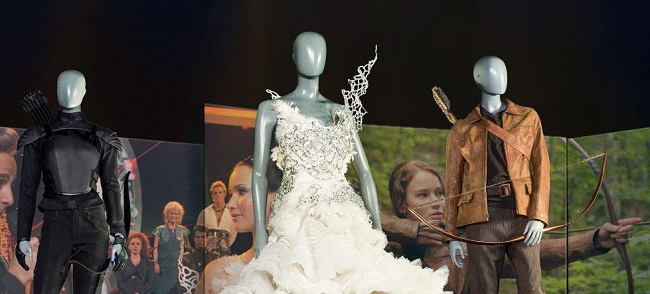 katniss everdeen's journey at the hunger games exhibition