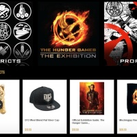 'Hunger Games Exhibition' online shop now open