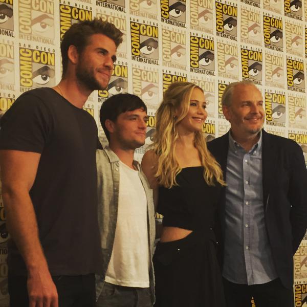 Liam, Josh, Jen, Francis - SDCC 2015