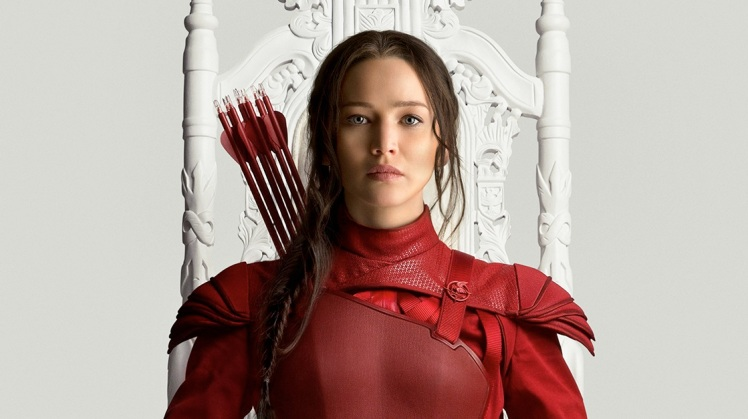 Mockingjay Red Katniss Poster-Featured