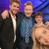 WATCH: Jennifer Lawrence, Josh Hutcherson, and Liam Hemsworth on Conan