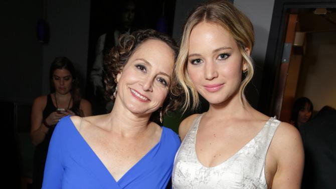 Nina Jacobson Jennifer Lawrence Mockingjay LA Premiere