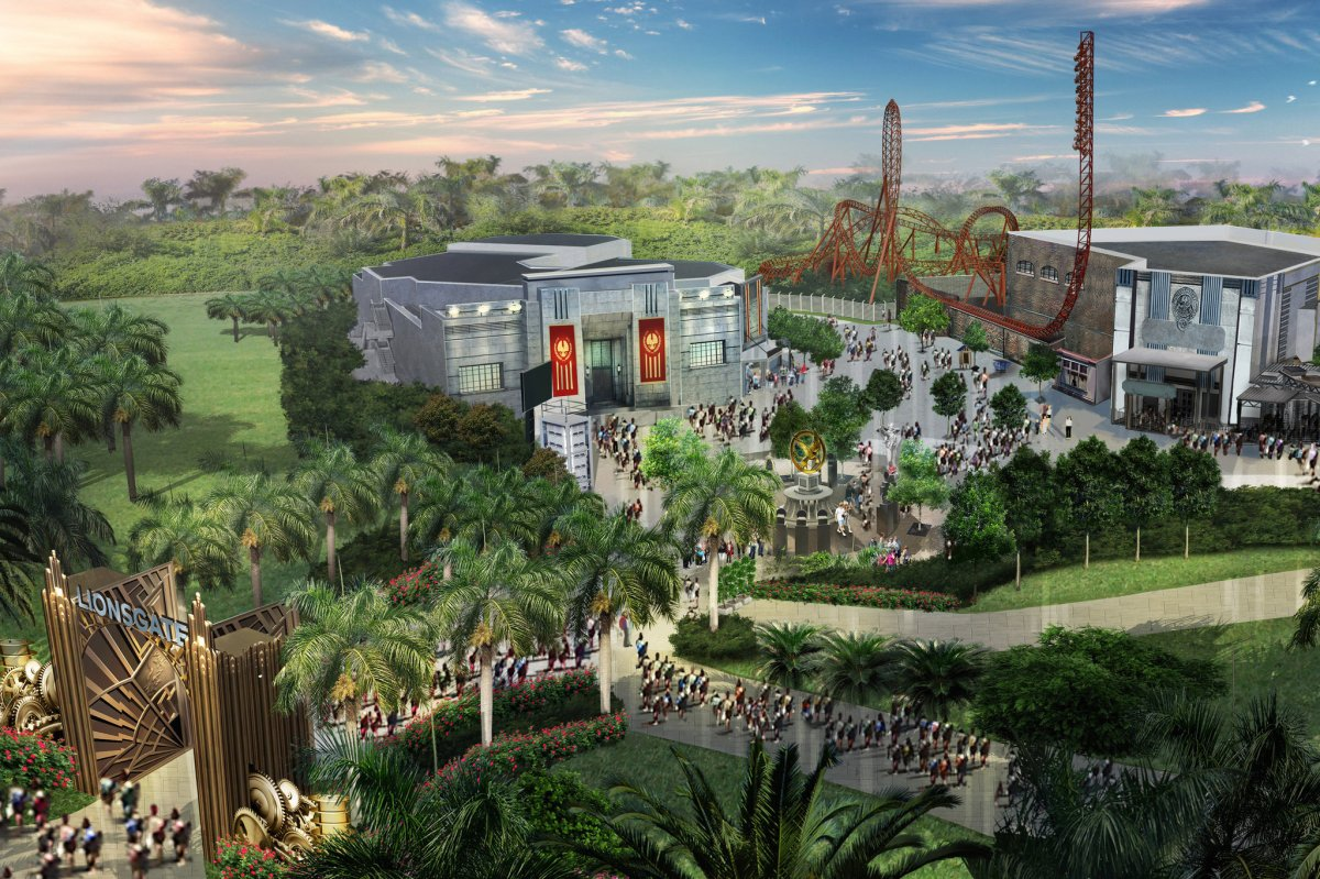 Dubai 'Hunger Games' theme parks to have hovercrafts and Tribute train