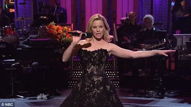 Elizabeth Banks on SNL 2015
