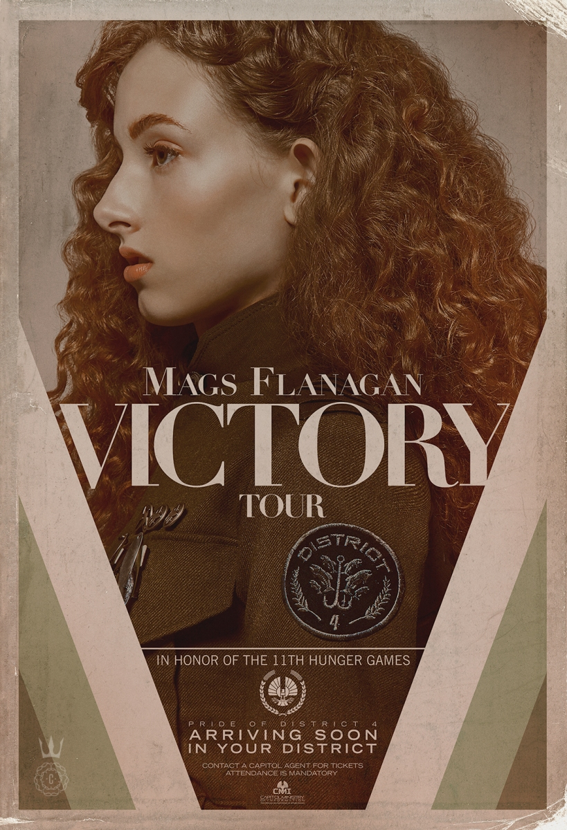 Photos: The Capitol Releases Victory Tour Posters of Mags & 38th Victor