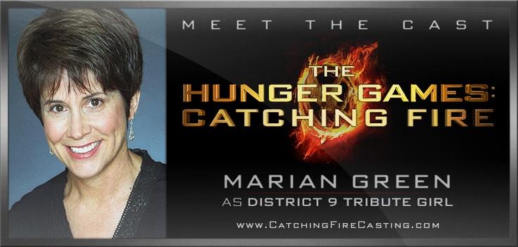Marian Green Catching Fire