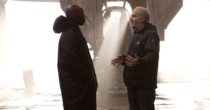 Mahershala Ali and Francis Lawrence - Mockingjay